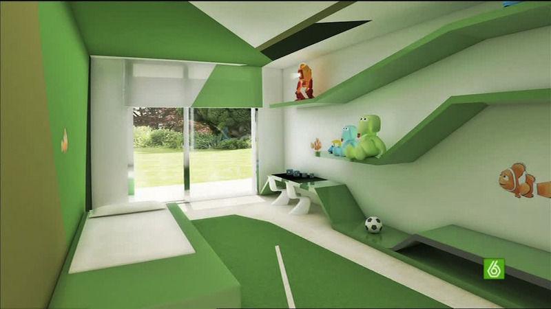 cristiano ronaldo house madrid. Black Bedroom Furniture Sets. Home Design Ideas