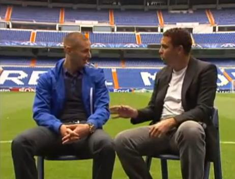 Quand Benzema rencontre son idole Ronaldo (VIDEO)