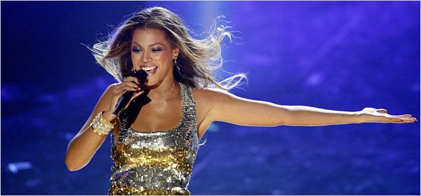 Beyoncé choisie pour chanter lors de la Coupe du Monde 2010