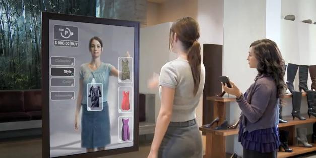 Cabines d'essayage High Tech par Cisco (VIDEO)