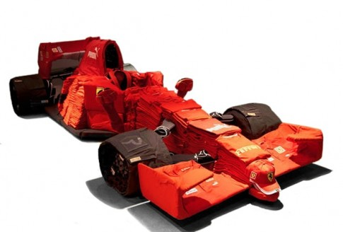 Une Ferrari en T-Shirt