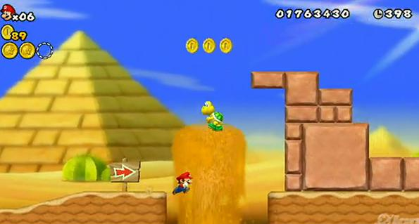 New Super Mario Bros Wii sortie le 20 novembre 2009 (TRAILER)