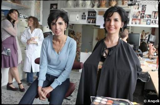 Rachida Dati inaugure son sosie de cire (VIDEO)