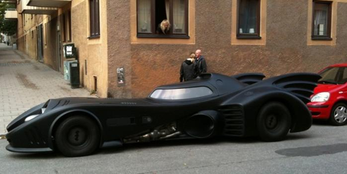 La Batmobile en vrai (VIDEO)