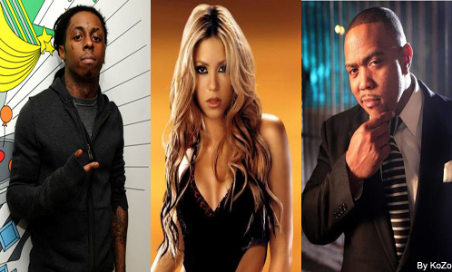 Shakira Feat Lil Wayne & Timbaland – Give It Up To Me (CLIP)