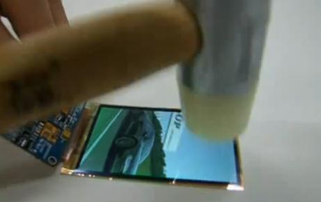 L'écran AMOLED flexible de Samsung est incassable (VIDEO)