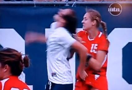 Le foot féminin dans toute sa splendeur (VIDEO)
