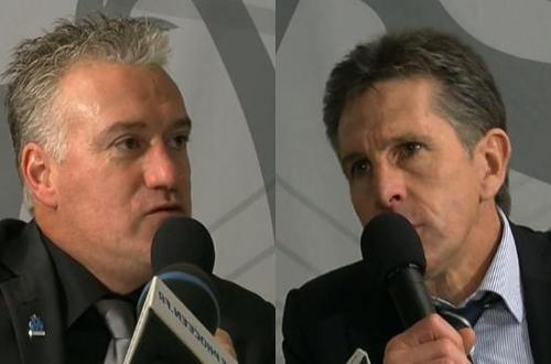 OL-OM (5-5) : Réactions de Deschamps et Puel (VIDEO)