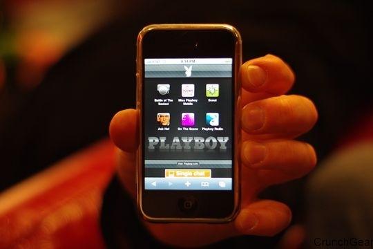 Apple autorise l'application Playboy sur l'App Store