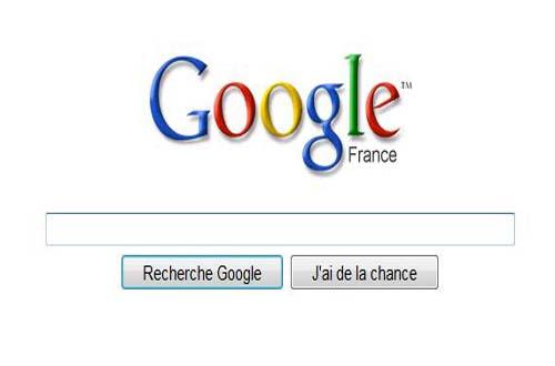 Nouvelle page d'accueil pour Google