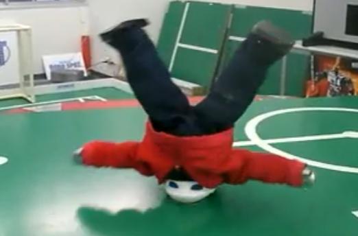 Un robot danseur de breakdance et de hip-hop (VIDEO)