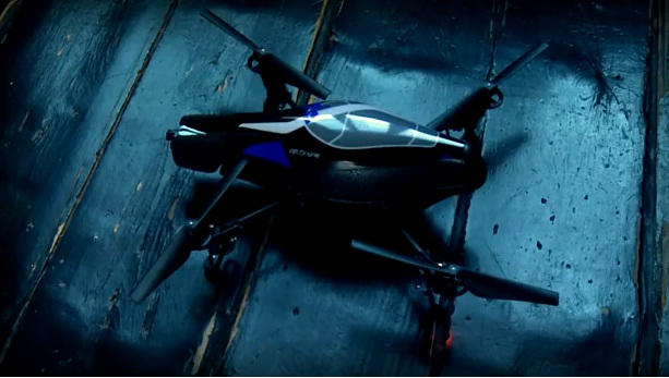 l'AR.Drone de Parrot, un hélicoptère piloté par iPhone (VIDEO)
