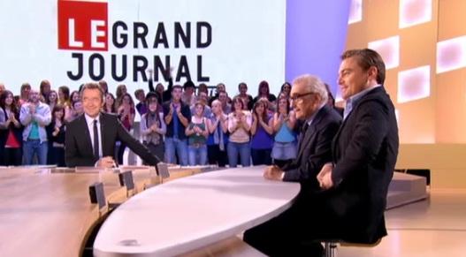 Di Caprio et Martin Scorsese dans Le Grand Journal (VIDEO)