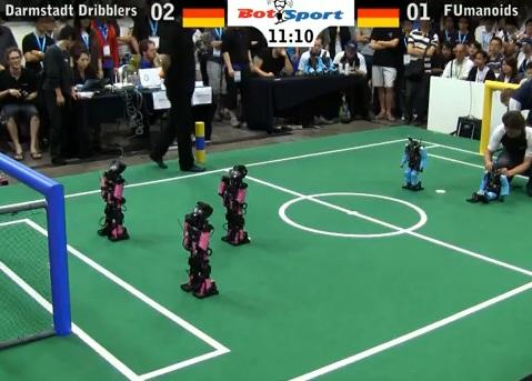 Finale de la coupe du monde de foot robotique allemagne - Finale coupe du monde foot ...