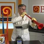 Passons une vuvuzela au blender ! (VIDEO)