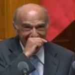 Four rire du ministre des Finances suisse au parlement (VIDEO)
