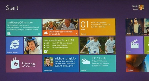 Les premières images de Windows 8 (VIDEO)