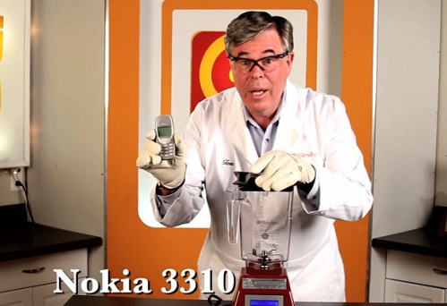 Will it blend?  : le Nokia 3310 passé au mixeur (VIDEO)