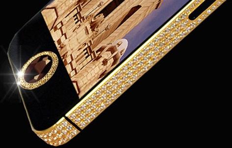 L'iPhone 5 le plus cher du monde coûte…11,5 millions d'euros (PHOTOS)