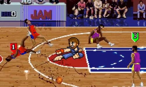 Chuck Norris vs NBA Jam