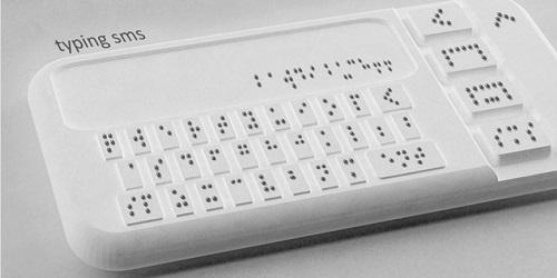 Le premier smartphone pour aveugles bientôt en vente (VIDEO)