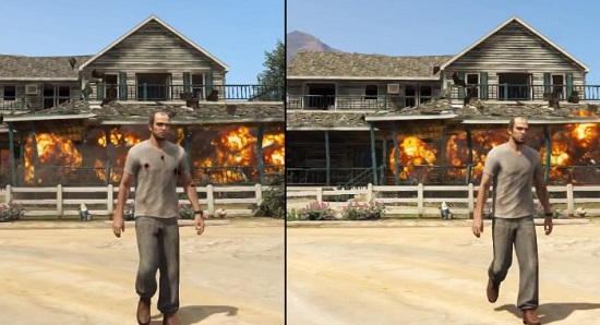 GTA V : PS3 vs Xbox 360, le comparatif (VIDEO)