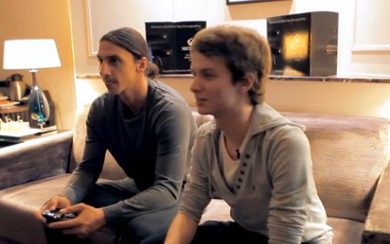 Zlatan Ibrahimovic parle de sa passion pour les jeux vidéo (VIDEO)