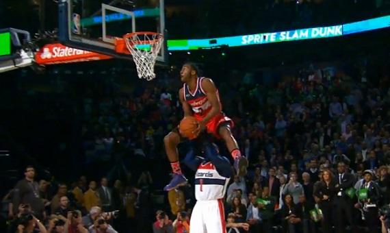 NBA Slam Dunk Contest 2014  : John Wall remporte le concours (VIDEO)