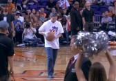 Fan That Hit a 77,777 Halfcourt