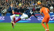 Le but acrobatique de Matuidi face aux Pays-Bas (VIDEO)