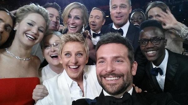Oscars 2014 : Cette photo est le tweet le plus partagé de l'histoire (PHOTO ET VIDEO)