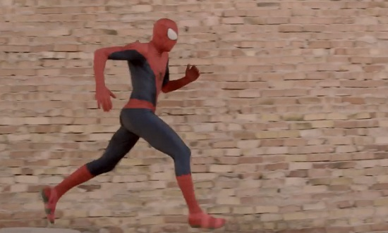The Amazing Spider-Man Parkour (VIDEO)
