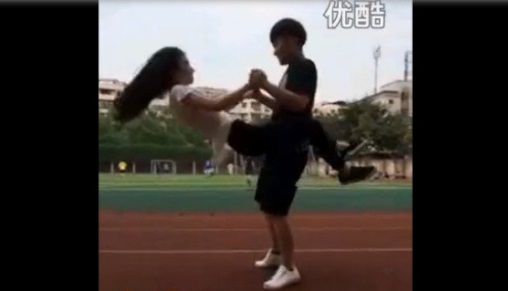Somersault kiss :  le mème qui fait fureur sur le net chinois (VIDEO)