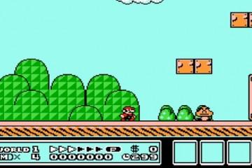 NES Super Mario Bros 3