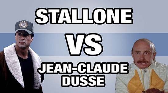 Mashup – Sylvester Stallone VS Jean Claude Dusse (VIDEO)