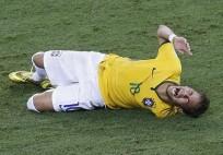 neymar-blessure mondial 2014
