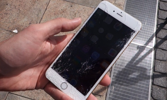 Crash Test iPhone 6 et iPhone 6 Plus (vidéo)