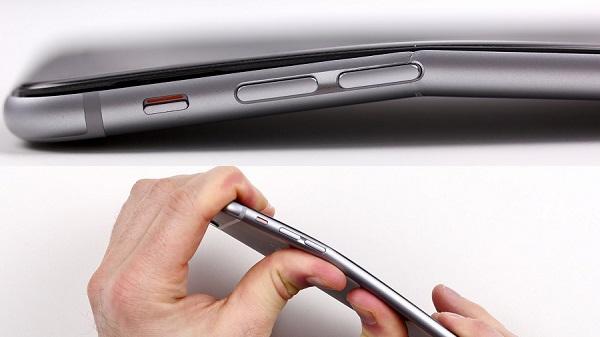L'iPhone 6 est tellement fin qu'il se plie : la toile s'en amuse (photos et vidéo)