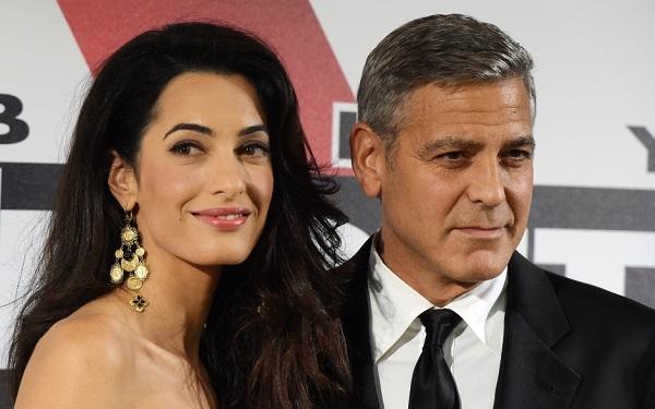 Découvrez les premières photos de mariage de George Clooney et Amal Alamuddin (photos)