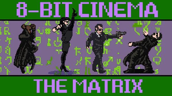 Les scènes cultes de Matrix version 8 bits (vidéo)