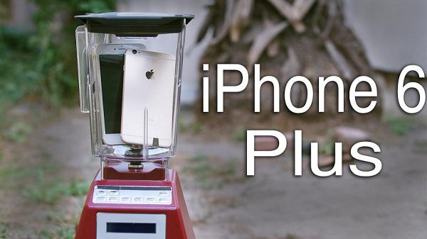 L'iPhone 6 est-il résistant ? iPone 6 vs eau, blender et arme à feu ! (vidéos)