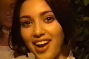 Kim Kardashian 13 years old