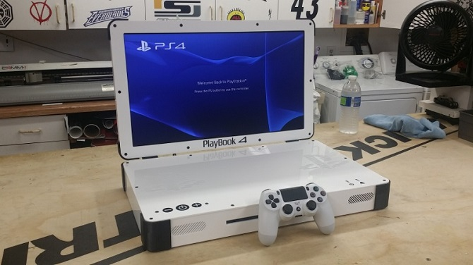 Playbook 4 ps4 portable