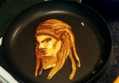 The Walking Dead Pancake Art