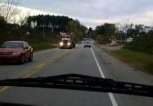 accident de la route usa
