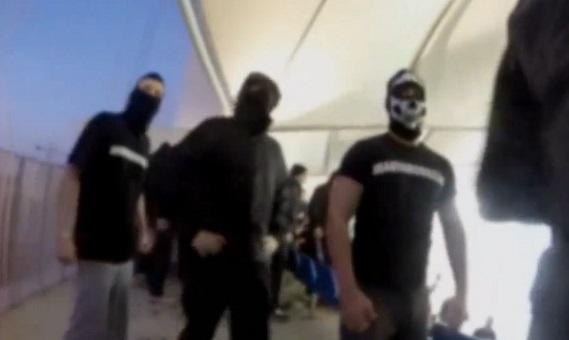 Une bagarre de hooligans filmée avec une GoPro (vidéo)