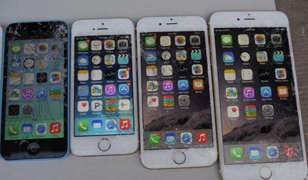 Crash tests : Quel iPhone résiste le mieux aux chutes ? (vidéo)