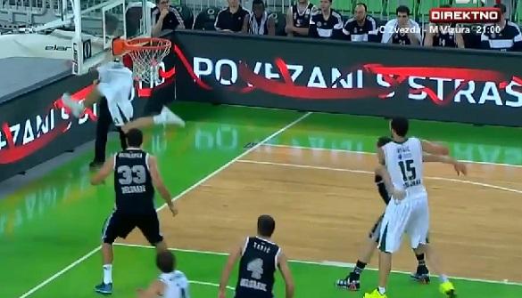 Basket : Il marque un panier impossible à réaliser (vidéo)