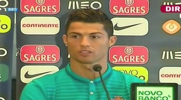 Cristiano Ronaldo envoie balader une journaliste en conférence de presse (vidéo)