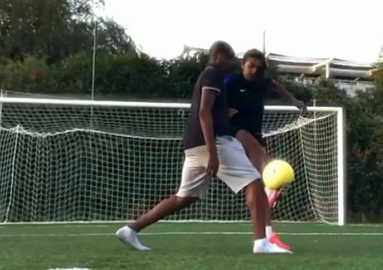 Football Freestyle : Nawel Hadjaf réalise un coup du sombrero magnifique (vidéo)